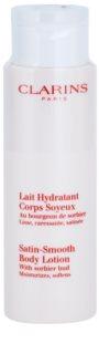 Clarins Body Hydrating Care hydratačné telové mlieko pre jemnú a hladkú pokožku