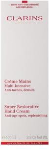 Clarins Body Super Restorative crema de manos para restaurar la elasticidad de la piel