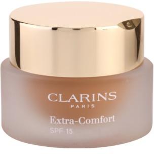 Clarins Face Make-Up Extra-Comfort stralucire si machiaj de intinerire pentru un aspect natural SPF 15