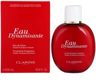 Clarins Eau Dynamisante orzeźwiająca woda unisex 500 ml uzupełnienie do dezodorantu
