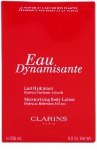 Clarins Eau Dynamisante leche corporal para mujer 250 ml