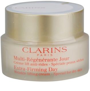 Clarins Extra-Firming дневен лифтинг крем против бръчки за суха кожа