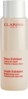 Clarins Exfoliating Care tónico esfoliante suave para pele radiante