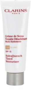Clarins HydraQuench creme tonificante leve com efeito hidratante SPF 15