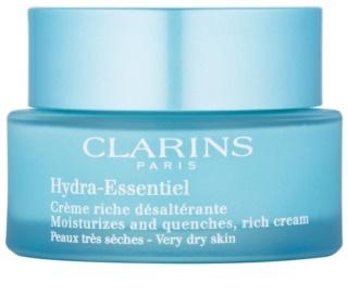 Clarins Hydra-Essentiel bohatý hydratační krém pro velmi suchou pleť