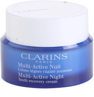 Clarins Multi-Active Revitaliserende Herstellende Nachtcrème  voor Normale tot Gemengde Huid
