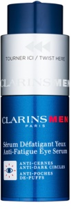 Clarins Men Age Control ορός για περιοχή των ματιών ενάντια στις ρυτίδες, το πρήξιμο και τους μαύρους κύκλους