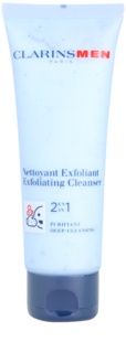 Clarins Men Wash Exfoliating Deep Cleanser