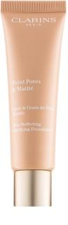 Clarins Pore Perfecting maquilhagem matificante para redução de poros