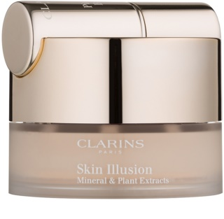 Clarins Face Make-Up Skin Illusion base de maquillaje en polvo con pincel