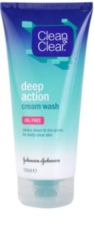 Clean & Clear Deep Action глибоко очищуюча кремова емульсія для обличчя