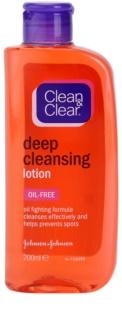 Clean & Clear Deep Cleansing глибоко очищуюча тонізуюча вода
