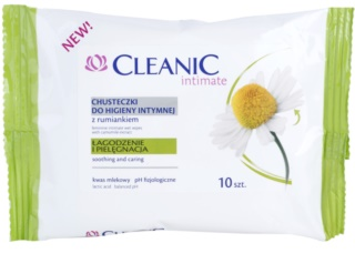 Cleanic Intimate Intimate Cleansing Wipes With Chamomile