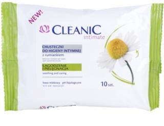 Cleanic Intimate obrúsky na intímnu hygienu s harmančekom