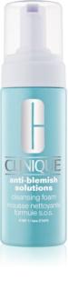Clinique Anti-Blemish Solutions tisztító hab problémás és pattanásos bőrre