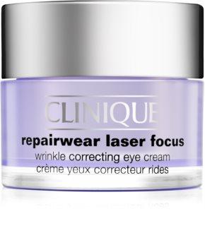 Clinique Repairwear Laser Focus крем проти зморшок для шкіри навколо очей для всіх типів шкіри