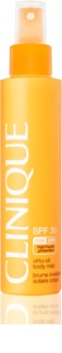 Clinique Sun Leche bronceadora no grasa en spray SPF 30