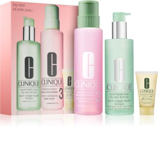 Clinique 3 Steps lote cosmético I.