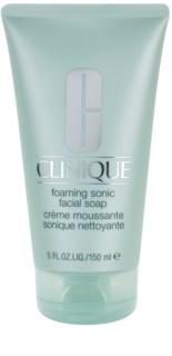 Clinique Sonic System jabón espuma textura crema  para todo tipo de pieles