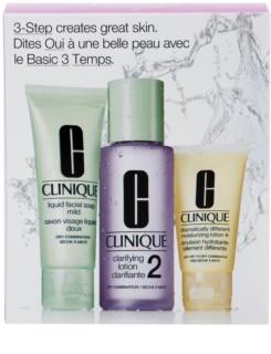 Clinique 3 Steps козметичен пакет  VI.