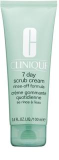 Clinique 7 Day Scrub Cream почистващ пилинг за ежедневна употреба