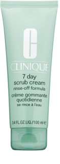 Clinique 7 Day Scrub Cream exfoliante limpiador para uso diario
