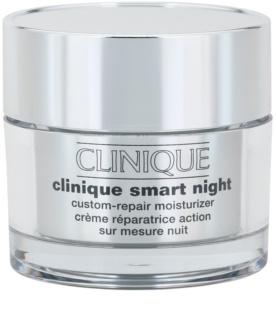 Clinique Clinique Smart creme hidratante de noite antirrugas para pele seca a muito seca