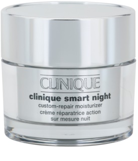 Clinique Clinique Smart creme hidratante de noite antirrugas para pele seca e mista