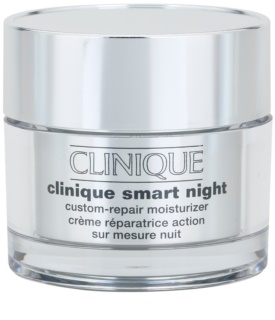Clinique Clinique Smart creme hidratante de noite antirrugas para pele mista e oleosa