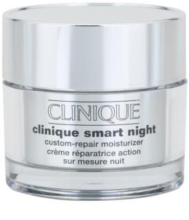 Clinique Clinique Smart™ feuchtigkeitsspendende Nachtcreme gegen Falten für gemischte und fettige Haut