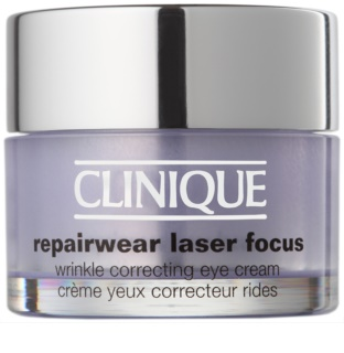 Clinique Repairwear Laser Focus™ Augencreme gegen Falten für alle Hauttypen