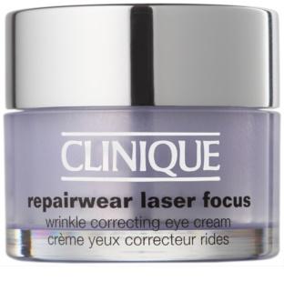 Clinique Repairwear Laser Focus crème anti-rides yeux pour tous types de peau