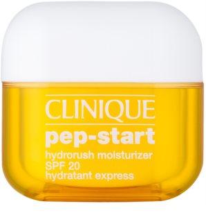Clinique Pep-Start хидратиращ и защитен крем SPF 20
