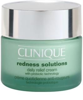 Clinique Redness Solutions creme de dia calmante para todos os tipos de pele