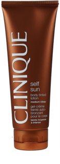 Clinique Self Sun™ önbarnító testápoló tej