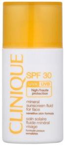 Clinique Sun ásványi napozó folyadék arcra SPF 30