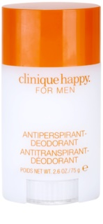 Clinique Happy for Men dédorant stick pour homme 75 ml
