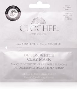Clochee Sensitive masque détoxifiant à l'argile