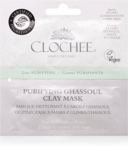 Clochee Purifying masque purifiant visage à l'argile