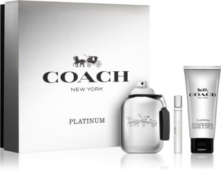 Coach Platinum coffret I.