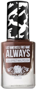 Cocolabelle Gel-Tastic Last Name Hustle First Name Always verniz de unhas efeito gel