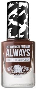 Cocolabelle Gel-Tastic Last Name Hustle First Name Always Gel-Effect Nail Varnish