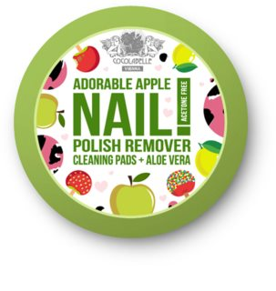 Cocolabelle Fruit Scented & Fabulous Nails Pads zur Nagellackentfernung