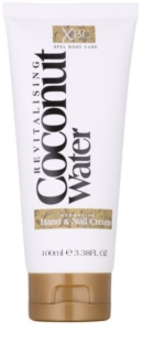 Coconut Water  XBC feuchtigkeitsspendende Creme für Hände und Fingernägel