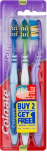 Colgate Zig Zag periuta de dinti Medium 3 pc