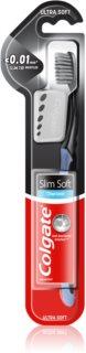 Colgate Slim Soft Charcoal οδοντόβουρτσα με ενεργό άνθρακα μαλακό