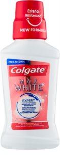 Colgate Max White bleichendes Mundwasser ohne Alkohol