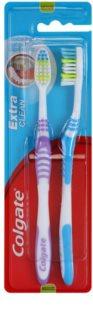 Colgate Extra Clean medium fogkefék 2 db