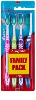 Colgate Extra Clean Zahnbürsten soft 4 Stk.