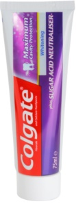 Colgate Maximum Cavity Protection Plus Sugar Acid Neutraliser dentifrice blanchissant